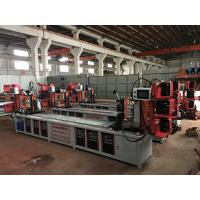 Buy cheap Assemble Shelf Auto Pipe Welding Machine 3 Faces / 4 Faces Goods Shelf Beam Welding from wholesalers