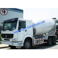 Buy cheap Left Hand Driving 6x4 Concrete Mixer Vehicle HOWO Brand with EURO III Emission Standard from wholesalers
