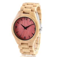 Buy cheap Solid wood wooden wrist wall clock watch from wholesalers