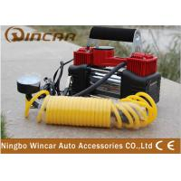 Buy cheap Double-Cylinder Car inflatable Pump 12V Portable Air Compressor Tire Inflators Tool from wholesalers