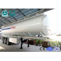 Buy cheap 3 Axle Crude Oil Fuel Tank Semi Trailer with Single Cabin A / C , 36 Cbm Volume from wholesalers