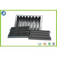 Buy cheap Anti-static PS Black 0.5 mm ESD Compartment Tray Used In Electronics OEM product