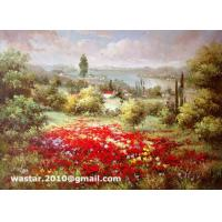 Buy cheap Impressionist flower field landscape paintings / Handmade oil painting makers(Item no: YH0021L) from wholesalers