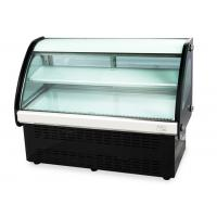 Buy cheap High Humidity Curved Glass Cake Display Cabinet (90cm-120cm) Countertop Food Cake Showcase from wholesalers