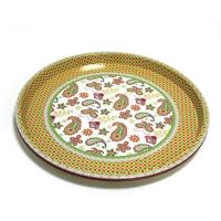 Buy cheap Round Deep Serving Metal Tray product