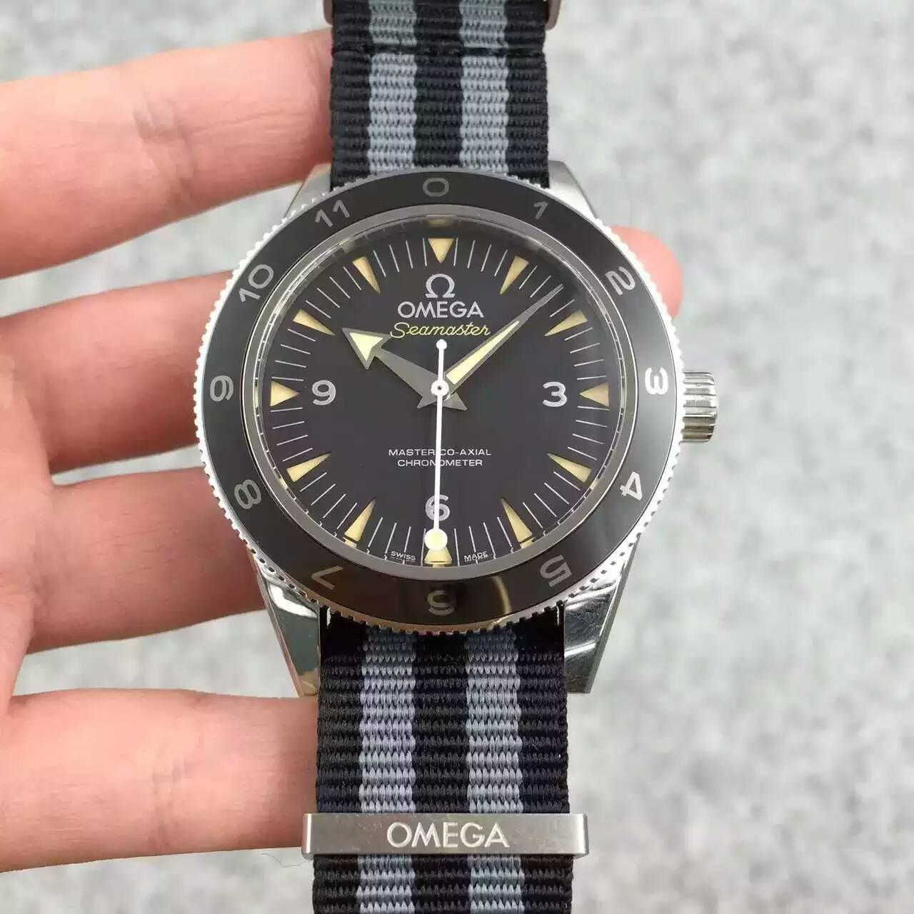 Buy cheap Omega Seamaster 300 SPECTRE 007 Limited Edition Automatic 8400 Watch with James Bond NATO from wholesalers