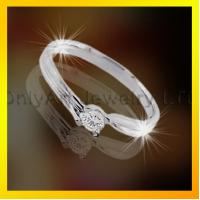 Buy cheap fashion design ladylike 925 sterling silver ring ,CZ jewelry from wholesalers