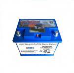 Buy cheap Car LiFePO4 12V 40Ah from wholesalers