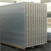 Buy cheap construction building 50mm glass magnesium hollow core sandwich panel from wholesalers
