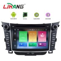Buy cheap 7 Inch Touch Screen I30 Hyundai Car DVD Player Android 8.0 With BT WIFI from wholesalers