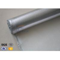 Buy cheap Recyclable Aluminum Coated High Silica Fabric Fiberglass Fire Retardant from wholesalers