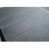 Absolute Black Granite Stone Tiles 2cm Thickness Customized Dimension