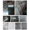Buy cheap Fireproof 5 Bar Aluminum Tread Plate , Aluminum Diamond Plate Wall Panels from wholesalers