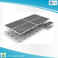 Buy cheap Sgaier Cheap 4x4ft wooden stage platform used portable from wholesalers