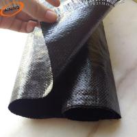 Buy cheap PP Woven Weed Control Mat / Ground Cover Mesh Fabric / Agricultural Black Plastic Ground Cover from wholesalers