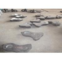 Buy cheap Cr-Mo Alloy Steel Crusher Wear Parts Jaw Plates For Jaw Crushers from wholesalers
