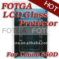 Buy cheap Anti-UV Digital Camera LCD Screen 0.5mm Optical FOTGA Glass Protector for CANON 550D T2i from wholesalers