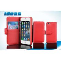 Buy cheap Magnetic Flip iphone 5 Cell Phone Leather Cases and Wallet Customize from wholesalers