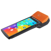 Buy cheap Sunmi V2pro Wireless Handheld NFC POS Terminal Android 7.1 POS Machine for lottery / bus ticket Payment from wholesalers
