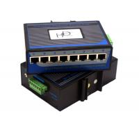 Buy cheap Mini Industrial Ethernet Switch  Flow Control 12v , Gigabit Ethernet Switch 8 Port from wholesalers