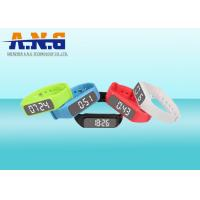 Buy cheap Multifunction Hf Rfid Tags,Custom Printed Rfid Wristbands With Led Pedometer from wholesalers