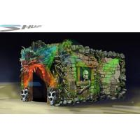 Buy cheap Dinosaur Cinema Box, Mobile 5D Motion Theater Movie Equipment For Theme Park product