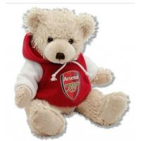 Buy cheap 12 Inch White Teddy Bear Holiday Stuffed Toys Embroidery Printing from wholesalers