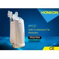 Buy cheap 3 in 1 Infrared Light Ultrasonic Fat Freezing Cool Sculpting Cryolipolysis Slimming Machine from wholesalers