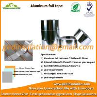 Buy cheap Aluminum foil tape pipeline duct insulation foil tape from wholesalers