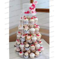 Buy cheap CD (138) wonderful 6 tier acrylic wedding cup cake stand from wholesalers