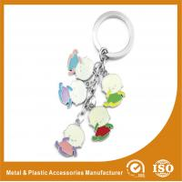 Buy cheap Baby Shape Drop Personalised Engraved Keyring / Customised Key Chains from wholesalers