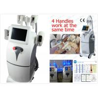 Buy cheap Vertical Cryolipolysis Body Slimming Machine , Safe Fat Burning Equipment from wholesalers