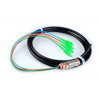 Buy cheap 4 Core SC Fiber Optic Pigtail Cables Rodent Resistant Waterproof With Black Jacket from wholesalers