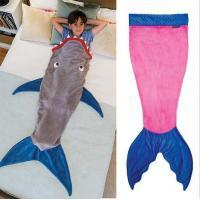Buy cheap Shark Sleeping Bag Kids Shark Tail Blanket product