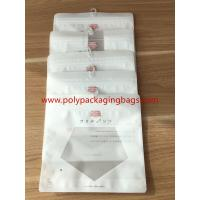 Buy cheap Reclosable Zip lock Poly Bags With Hangers Hook / Plastic Custom Printed Bags product