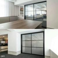 Buy cheap privacy glass door panels  ebglass from wholesalers