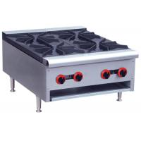 Buy cheap Commercial Restaurant Cooking Equipment Table Top Gas Stove With 1 / 2 / 4 / 6 Burners from wholesalers