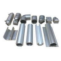 China Aluminum Pipe Flexible Tube Pipe Fitting Ebow Connectors for Industial Pipe Rack on sale