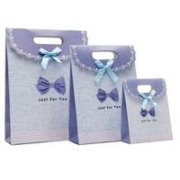 Buy cheap pretty paper gift bag with your specifict design from wholesalers