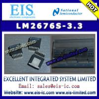 Buy cheap LM2676S-3.3 - NS (National Semiconductor) - SIMPLE SWITCHER High Efficiency 3A Step-Down V product