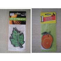Buy cheap paper car air freshener from wholesalers