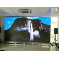 Buy cheap High Density P4 Indoor Advertising LED Display / SMD LED video wall For Cinema Advertising from wholesalers