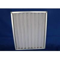 Buy cheap Railway Station  Airport Washable Metal Air Filters , Rectangle Handling System  Furnace Air Filter Frame from wholesalers
