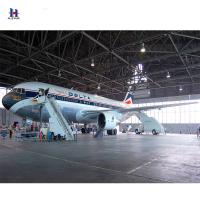 Buy cheap Q345 high quality Factory price large span of hangar steel warehouse from wholesalers