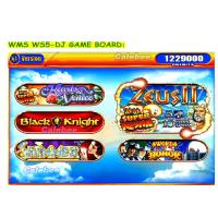 Buy cheap Casino games board WMS WS5-DJ-WA / WMS Slot Game Machine 5 IN 1 Game Board Custom slot  games mahcines gambling games from wholesalers