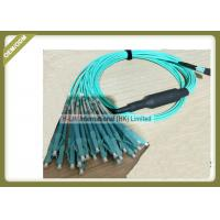 Buy cheap 3m / 5m / 10m Optical Patch Cord 1250 ~ 1650nm Wavelength With MPO - LC Connector product