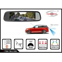 Buy cheap 1280 * 400 Resolution Reversing Mirror Monitor , Rear View Mirror Video Monitor product