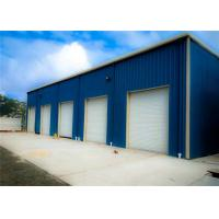 China Prefab Metal Buildings Light Steel  Structure Building With Sandwich Panel on sale