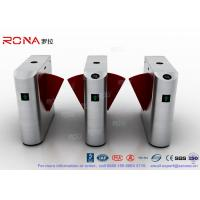 Buy cheap Acrylic Flap Waist Height Turnstile Security Systems Optical Sensor Rs485 from wholesalers