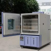 China Refrigerant 404A Air Cooled Humidity And Temperature Controlled Chamber 1000 L Single Door on sale